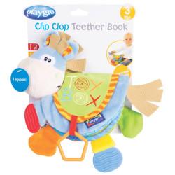 Juguete didáctico Playgro CLIP CLOP TEETHER BOOK