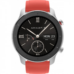 Smartwatch Xiaomi Amazfit GTR Rojo de 42 mm (Xiaomi-3200-Amazfit GTR-RED)