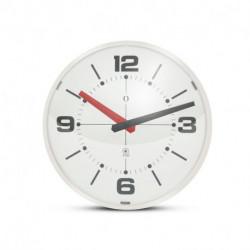 Reloj de Pared Semi Esfera Gato Blanco y Marfil (G122-001)