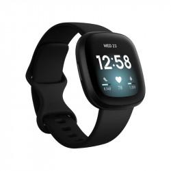 Smartwatch Fitbit Versa 3 Black Aluminio