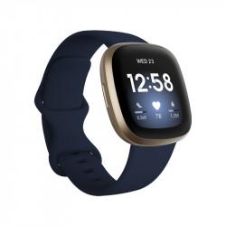 Smartwatch Fitbit Versa 3 MidnightSoft Gold Aluminio