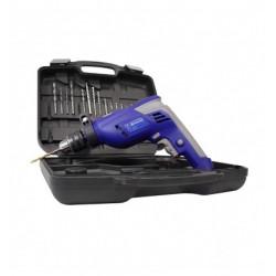 Taladro Motomel MTK1 550W con kit 13mm 550W percutor reversa