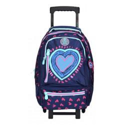 X Trem Hearts Blue Mochila C/carro 75-132266l149 Azul