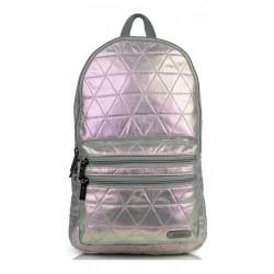 X Trem Boogy 064 Backpack Black Triangle Plateado