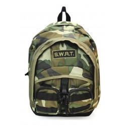Swat Mochila Camuflada C/bolsillos 9125501 Verde