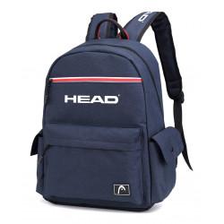 Mochila Head Combinada Porta Tablet C/bolsillo En Base Azul