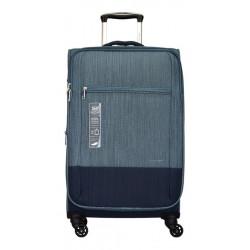 Valija Chica Carry On Cabina Azul Cecchini 4 Ruedas Azul