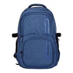 Mochila Cecchini P/tablet 2 Bolsillos Jaspeada 5631 Azul