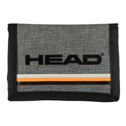Billetera Hombre Head Jaspeada C/franjas 26639 Negro