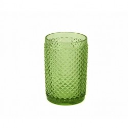 SET X 6 VASOS DE VIDRIO SUNFLOWER