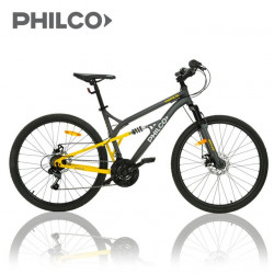 Bicicletta Mtb 26 Philco Shimano 18 Doble Suspencion