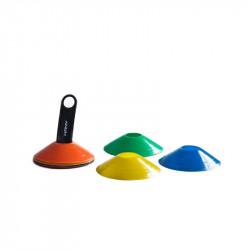 Set de Conos Tortuga Con Soporte Kany MultiColor