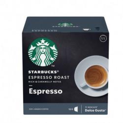 Capsulas de Café STARBUCKS ESPRESSO ROAST x 12 unidades