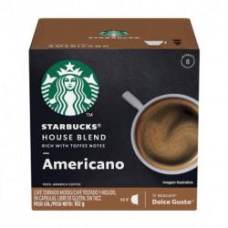 Capsulas de Café STARBUCKS HOUSE BLEND AMERICANO 12 Unidades