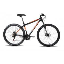 Bicicleta Mtb Topmega Regal R29 21v Disco Mecanico Negro Talle M