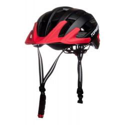Casco Bicicleta Topmega Mtb 20 Vent Visera 55-61 In-mold Negro/Rojo