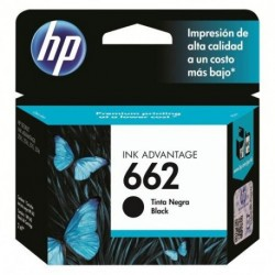 CARTUCHO HP 662 - NEGRO