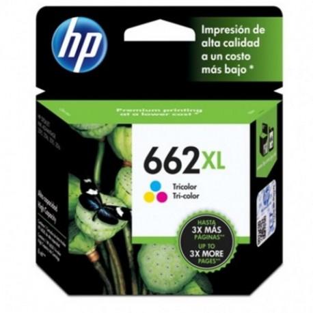 CARTUCHO HP 662XL - TRICOLOR