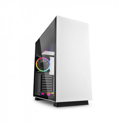 Gabinete Sharkoon Pure Steel White Rgb Atx
