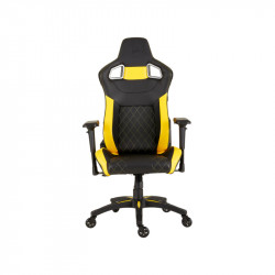 Silla Gamer Corsair T1 Race Negra-Amarilla
