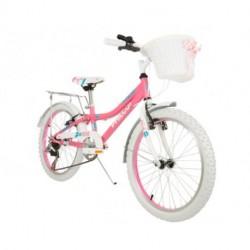 Bicicleta Rosa Philco Patio Rodado 20