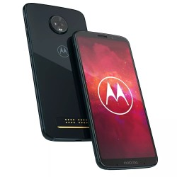Celular Motorola Moto Z 3 Play Deep Indigo (XT1929-6) Single SIM AR