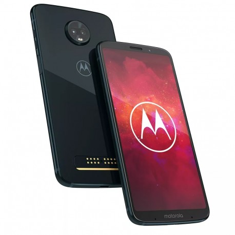Teléfono Celular Moto Z Play Deep Indigo (XT1929-6) Single SIM AR