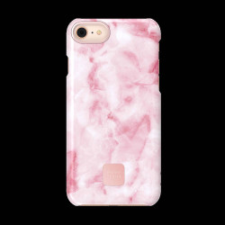 FUNDA HAPPY PLUGS IPHONE 7/8 CASE PINK MARBLE