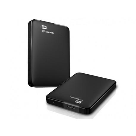 Disco Rígido Externo Western Digital ELEMENTS 1TB Negro