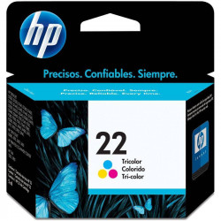CARTUCHO DE TINTA HP 22 TRICOLOR HP-C9352AL