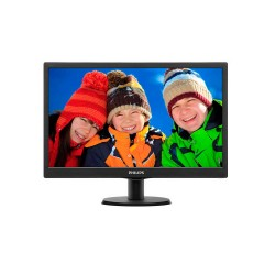 MONITOR 24 LED PHILIPS HDMI /VGA/DVI NEGRO 243V5LHSB/55
