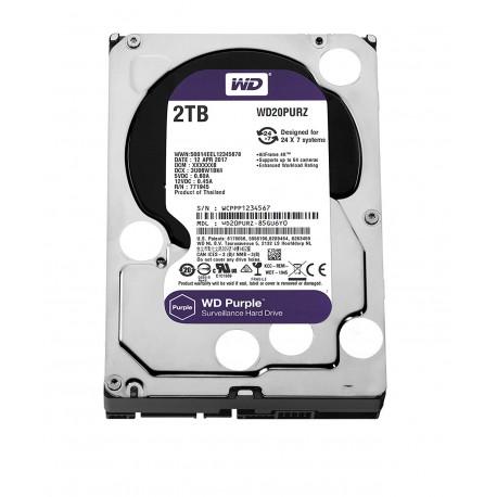 Disco Rigido WD 2TB Intellipower Purple