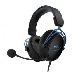 Auricular HyperX Cloud Alpha S Gaming Blue (HX-HSCAS-BL/WW)