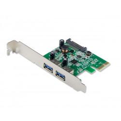 PLACA CONTROLADORA IOCREST 2 PORT USB 3.0 PCIE