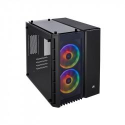Gabinete Corsair Gamer 280X Rgb Tg Micro Atx Black