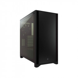 Gabinete Corsair Gamer 4000D Tg Black