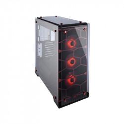 Gabinete Corsair Gamer 570X Rgb Black Mid Tower Atx