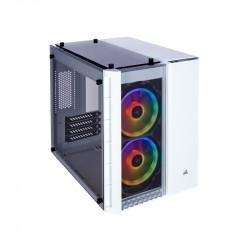 Gabinete Corsair Gamer 280X Rgb Tg Micro Atx Blanco