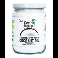 Aceite de Coco Ceylon- Organico, Extra virgen