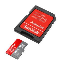 TARJETA DE MEMORIA MICROSD 64GB SANDISK EXTREME SDSQXA2-064G-GN6MA 4K UHD 160MB/S
