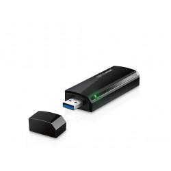 PLACA DE RED USB WIRELESS TP-LINK ARCHER T4U AC1300 DUAL BAND