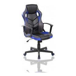 Sillón Ejecutivo Reforzado Ergonomico Gamer Silla De Oficina Color Azul
