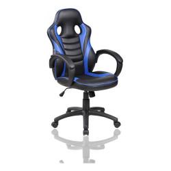 Sillón Ejecutivo Gamer Reforzado Butaca Silla Oficina Gaming Color Azul