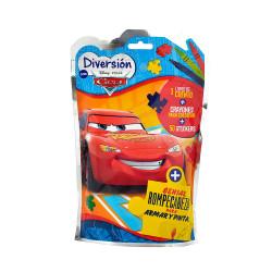 Mini Flow Pack Juegos Block de Actividades Cars