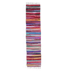 Camino Alfombra Chindi Multicolor 60 x 200 Pasillo