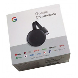 Google Chromecast 3 Smart Tv Sin trafo Usb