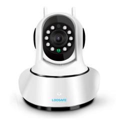 Camara IP WiFi Loosafe Night Vision 2 Antenas