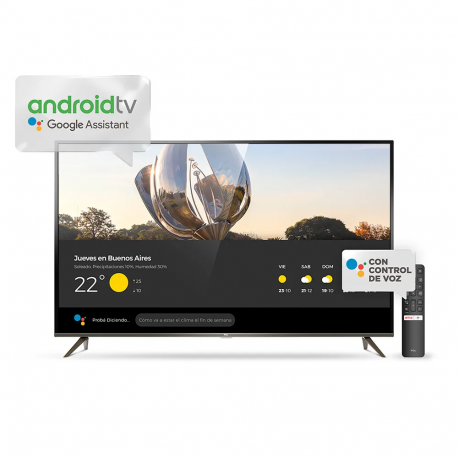 Televisor Smart 50 TCL UHD 4K Android