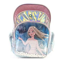 Mochila Espalda Frozen Queen Of Snow And Ice 16 Pulgadas