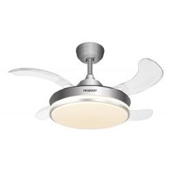 Ventilador De Techo Con Control Temporizador Y Luz Led Vtr36